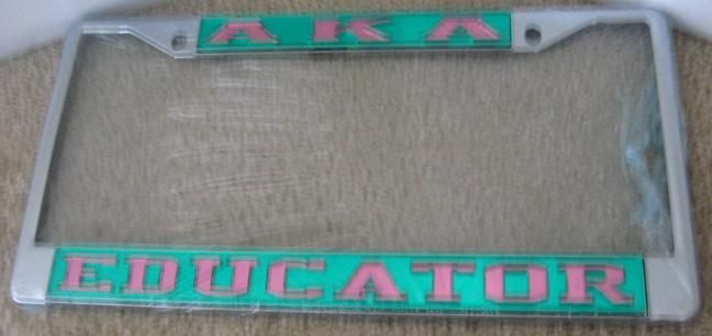 AKA_Educator_License_Frame