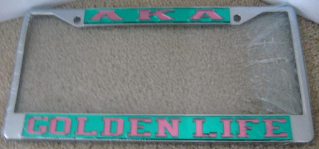 AKA_Golden_Life_License_Frame