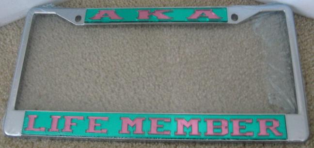 AKA_Life_Member_License_Frame