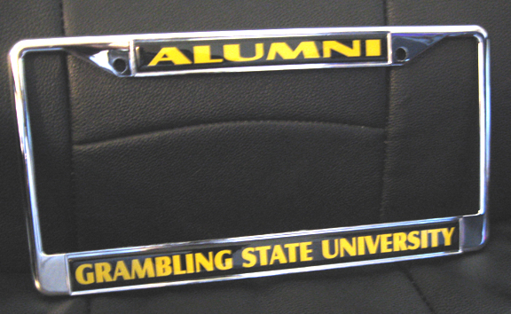 Grambling_Alumni_License_Frame