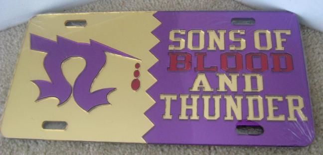 Omega_Sons_Blood_Thunder_License_Plate