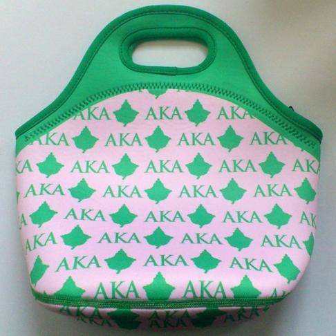 Aka Sorority Neoprene Lunch Bag