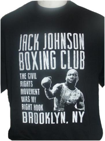 Jack Johnson Boxing Tee
