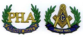 Mason_Prince_Hall_Wreath_Patch_Set