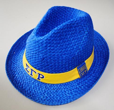 Sigma Gamma Rho Fedora Hat