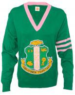 AKA_Vneck_Chenille_Crest_Sweater_GT