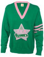 AKA_Vneck_Silver_Star_Sweater_GT