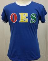 OES Ringer Tee Blue