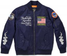TUSKEGEE_BOMBER_JACKET_NAVY_FRONT