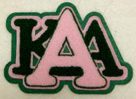 aka chenille stacked letters 3